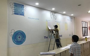 Wellbeing Wall - British International School HCMC