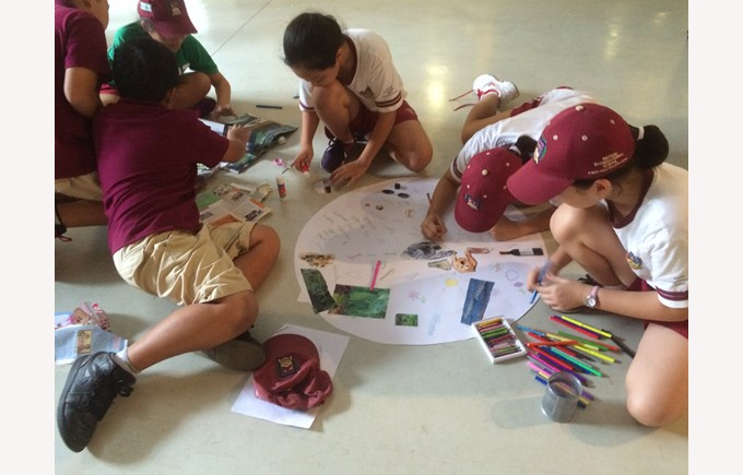 BIS Ho Chi Minh Year 5 and 6 visit a Art anf Science exhibit - 5