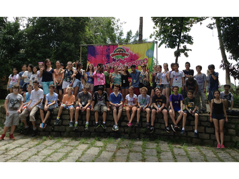 Year 9 on Activity Week 2014