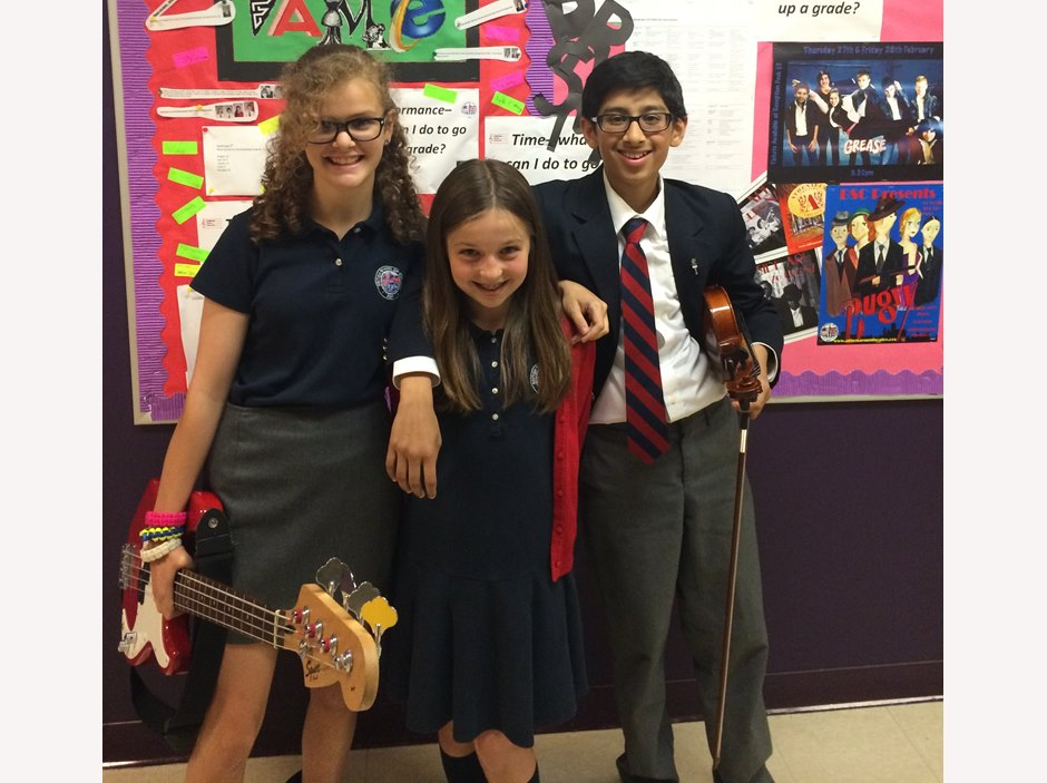 Anica Aguilera, Katie Baffa & Sidharth Shukla - British International School of Chicago