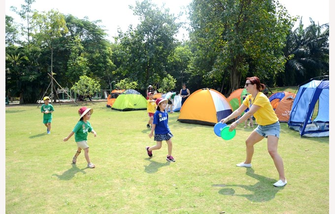 BVIS Hanoi student Y2 camping (7)