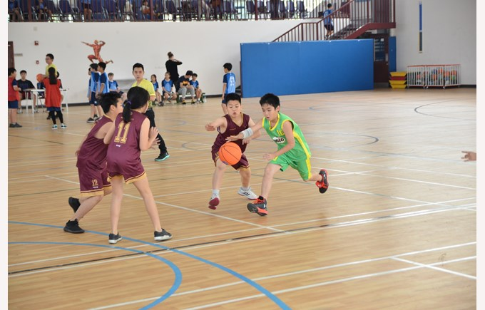 British International School Hanoi HAC basketball