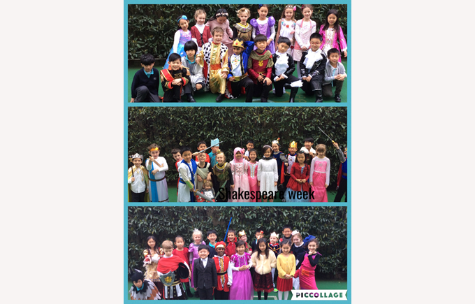 Shakespeare Week in Year 2