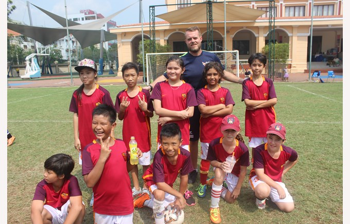Community Football Tournament BISHCMC AC Roma