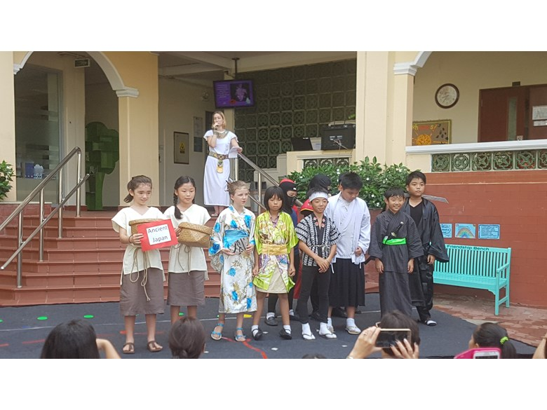 BIS Ho Chi Minh Year 5 Step Back in Time - 5