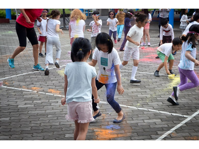 British International School Hanoi - Holi Festival