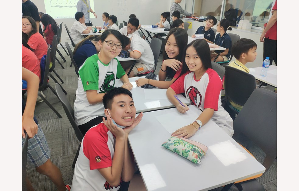 BIS HCMC Junior Saigon Mathematics Competition 6