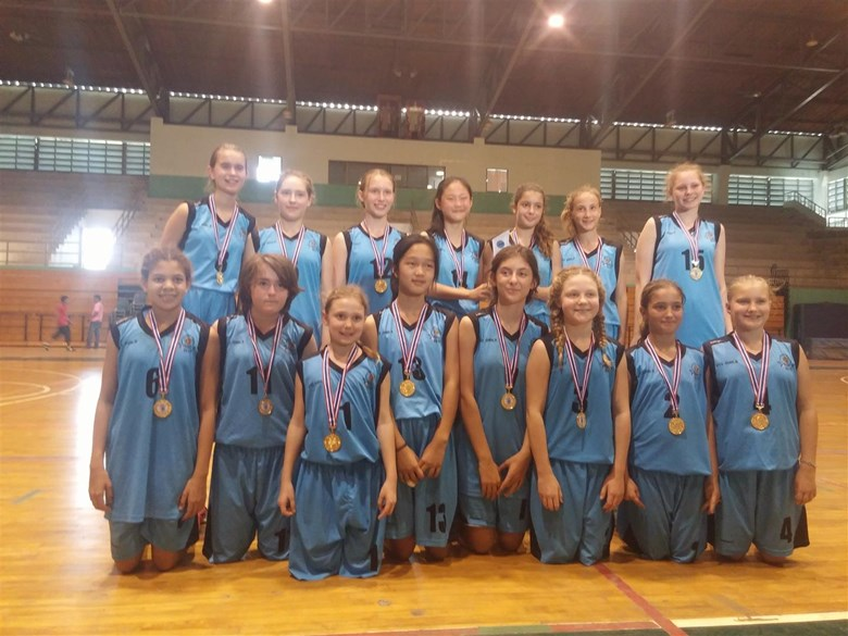 U13 FOBISIA Girls Basketball Champions (Large)
