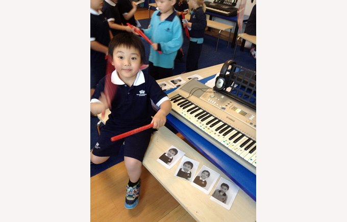 Music Lesson in Reception