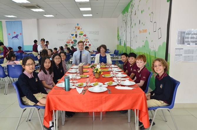 British International School Hanoi - Fine dining