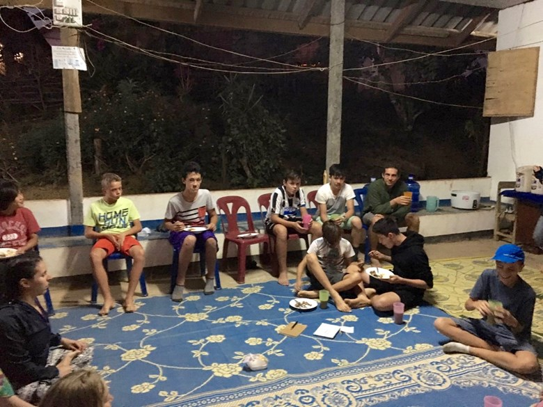 Years 8 and 9 Laos Trip Update: Day 3
