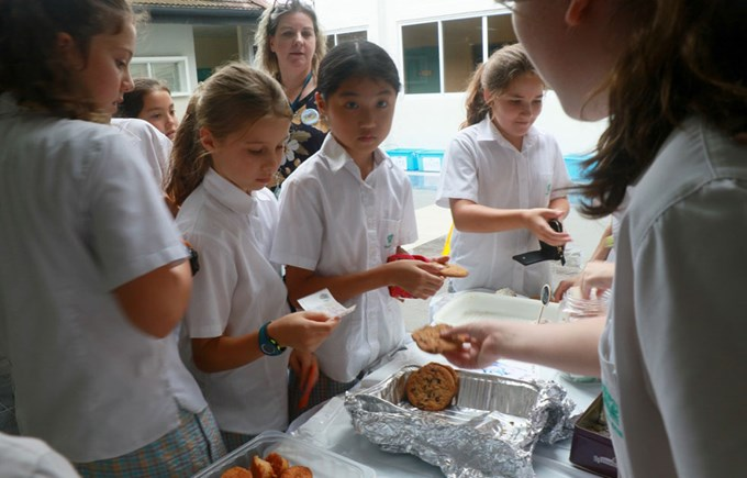 Dover Court International School Singapore Rhinos United Bake Sale
