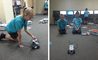 Year 5 students at the British International School Shangai, Puxi learn computer programming with Lego Mindstorm