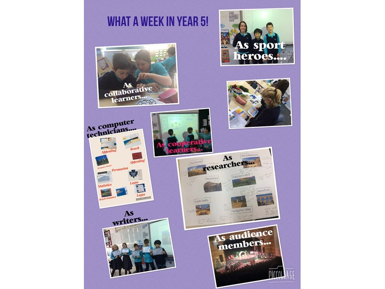 What a week in Year 5!