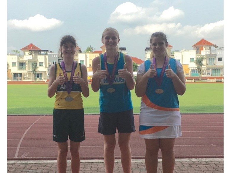 Junior Athletics Medal Winners