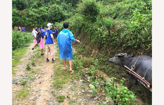 BVIS trip to Sapa Year 9 & 10 (2)