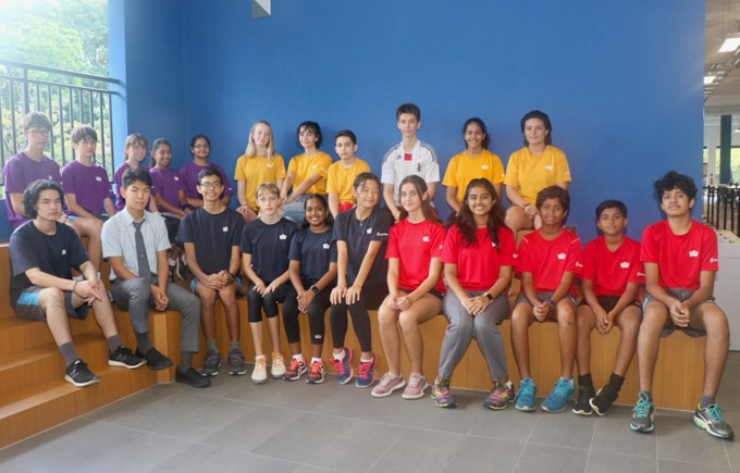 Dover Court International School Singapore, Secondary House Captains