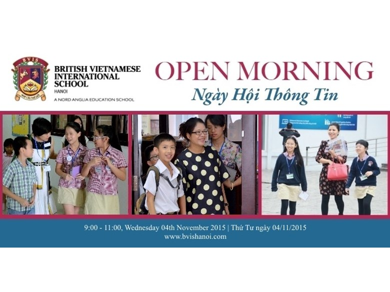 Open Morning 04th November
