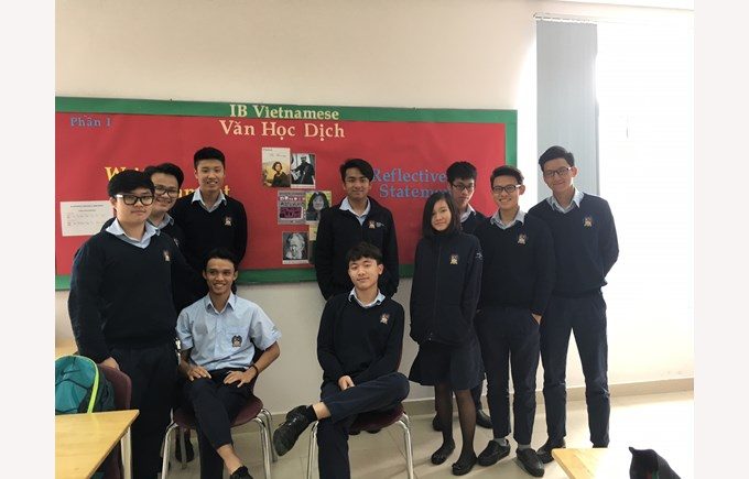 British International School Hanoi Vietnamese department