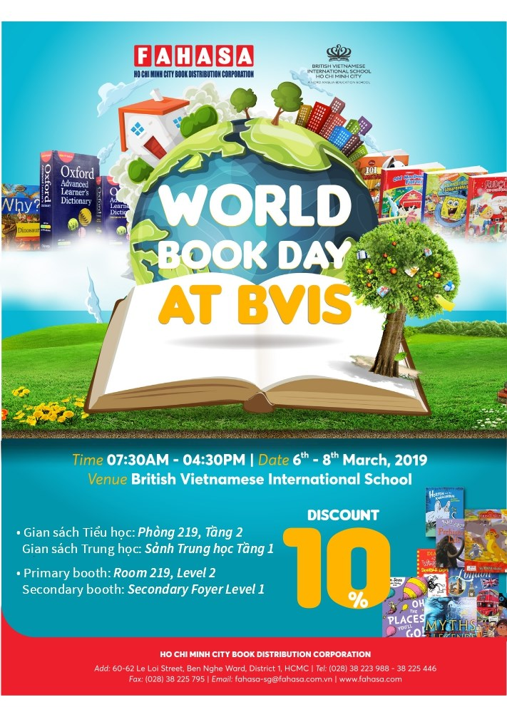 World Book Day 2019 | BVIS HCMC | Nord Anglia