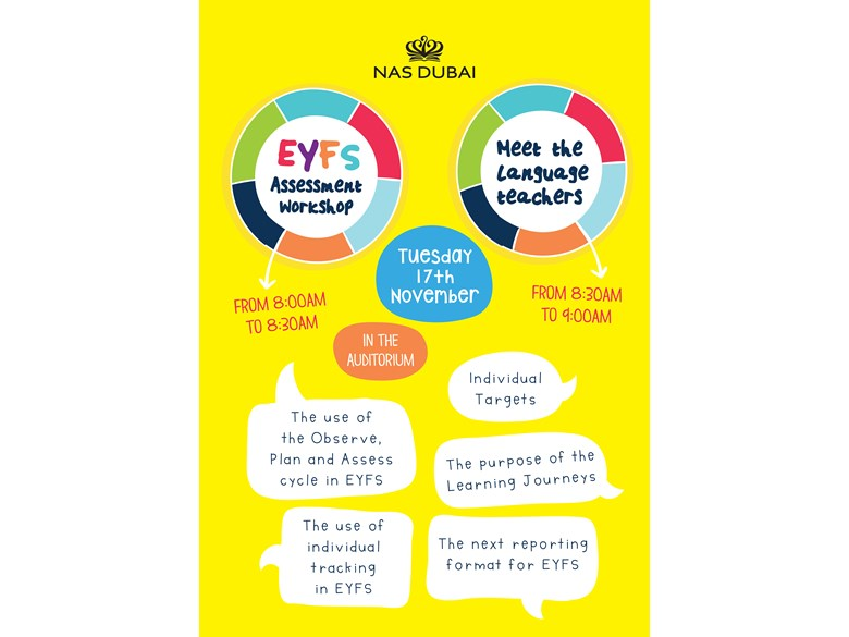 EYFS Assessment Workshop