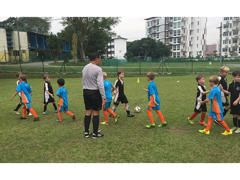 U8 Boys Football 2017 German European School