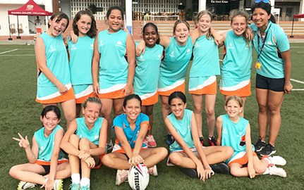 Touch Rugby U12 Girls