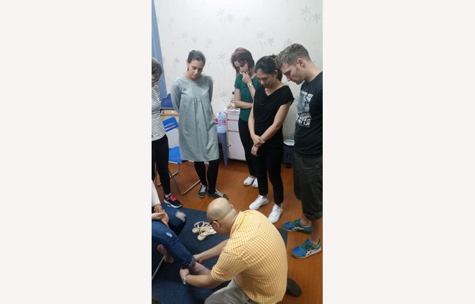 First aid training BVIS Staff (2)