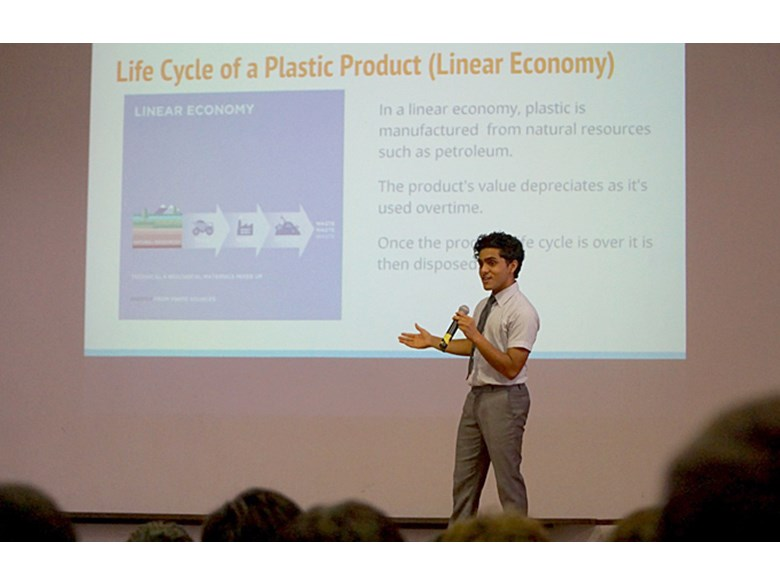 Circular Economy Presentation by IB Environmental Systems and Societies Students