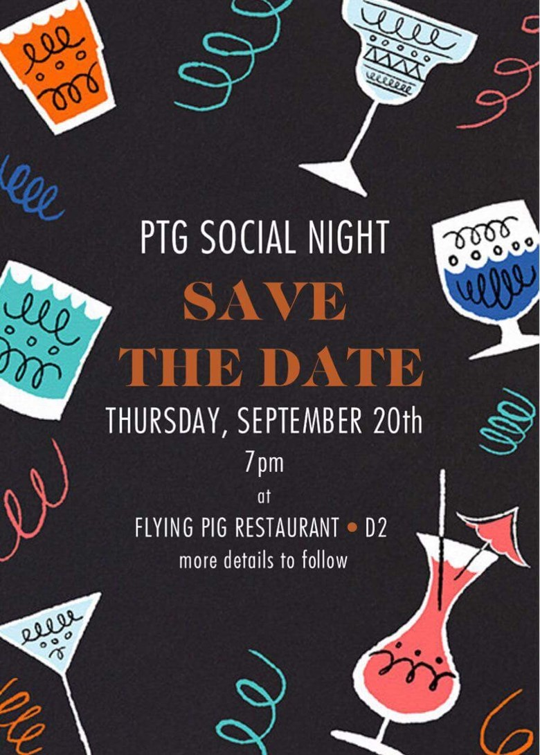 PTG Save the date