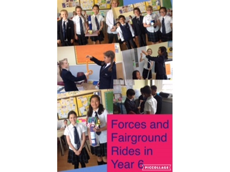 Forces and Fairgrounds in Year 6