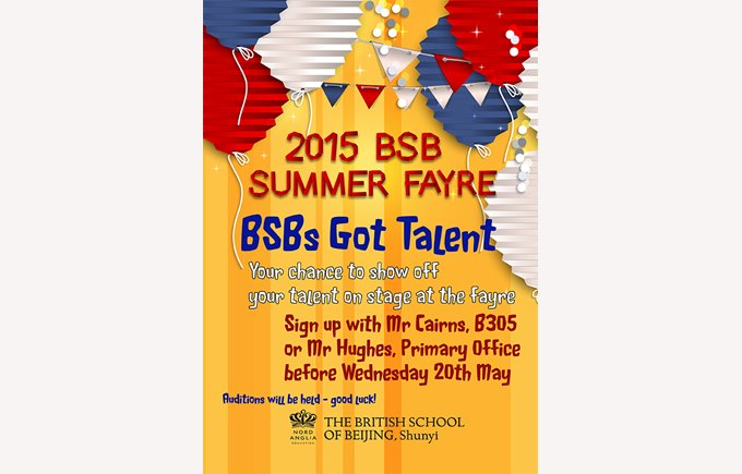 BSB's Got Talent poster