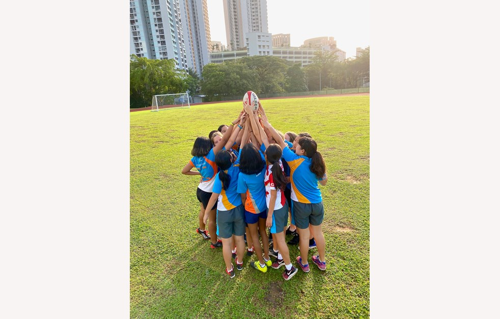 Dover Court International School Singapore Girls Contact Rugby