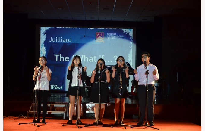 Stephanie Song Juilliard British International School Hanoi