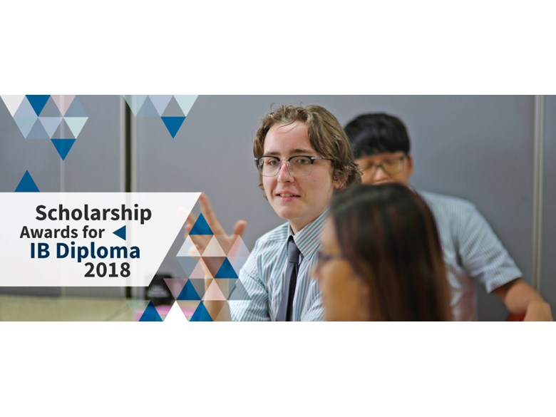 Scholarship Awards for IB Diploma 2018