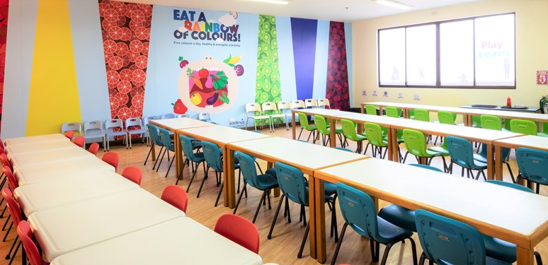 eyfs eating area