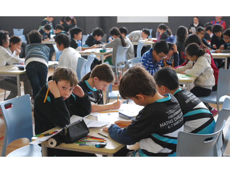 The British International School Shanghai, Puxi hosted the FOBISIA Primary Maths Challenge