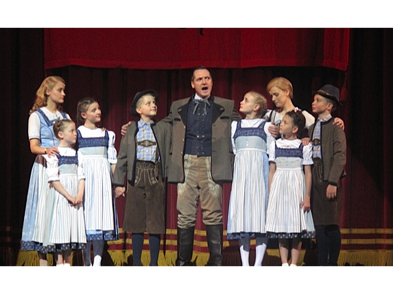 Mia, a Year 8 student, starring in The Sound of Music at the Shanghai Grand Theatre
