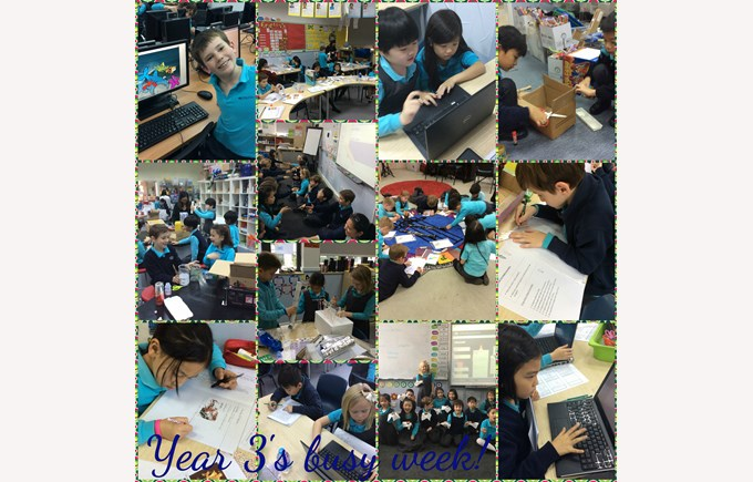 Our week in Year 3