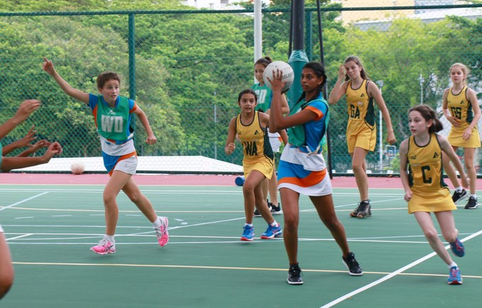 Dover Court International School Singapore Under 14 Netball ACSIS Champions