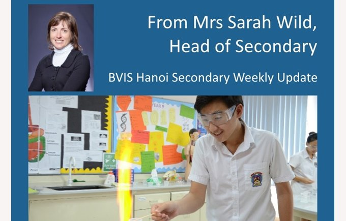 BVIS Hanoi Secondary update 19 June