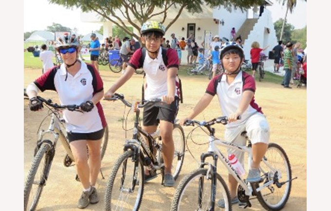 Thai Polo and Equestrian Club: Family Bike Day in Pattaya
