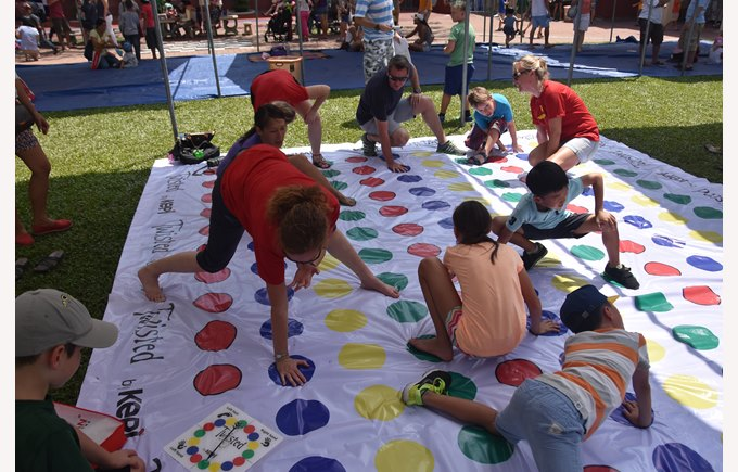 Twister at the Community Fair