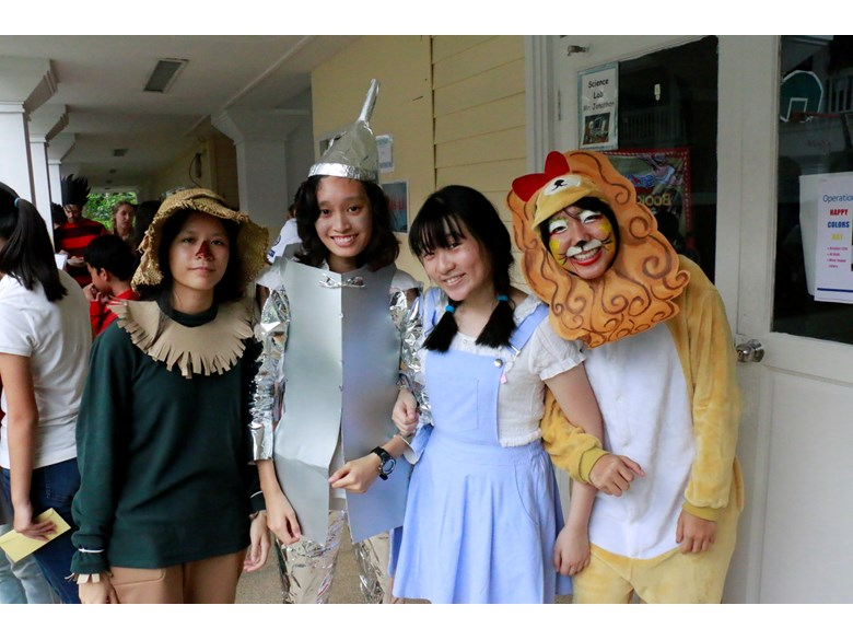 St. Andrews High School gets dressed up for Book Week 2016.
