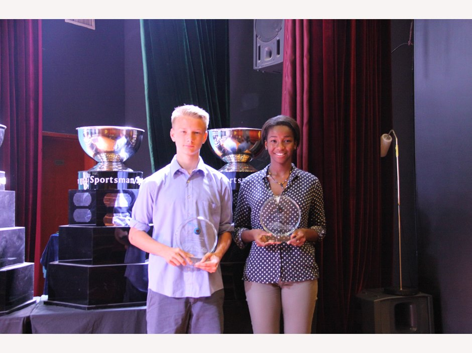 U19 Sportsman/woman of the Year 2015: Herman Palmgren, Juanita Eben