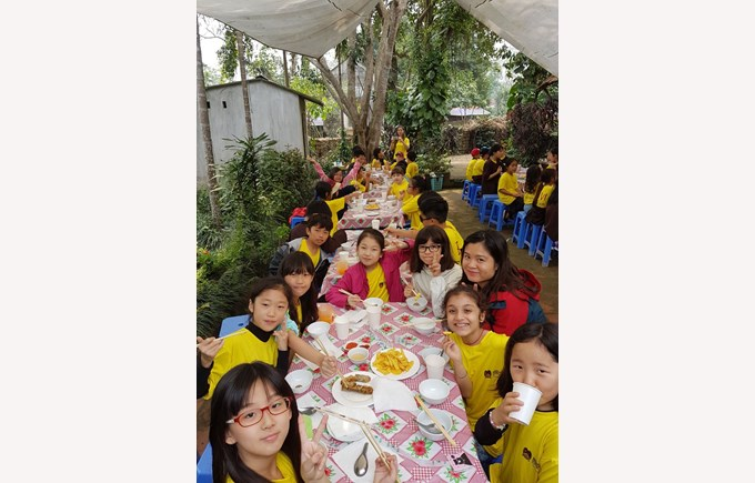 Britist International School Hanoi - Bavi trip