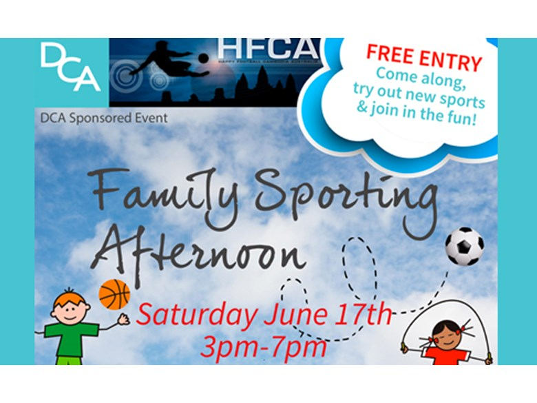 DCA Family Sports Day 2017