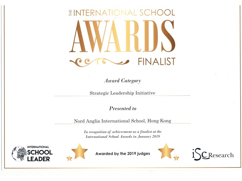ISA finalist award - Leadership