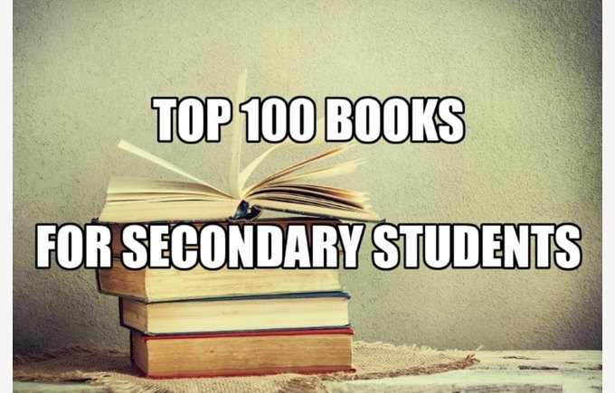 Top books for secondary students