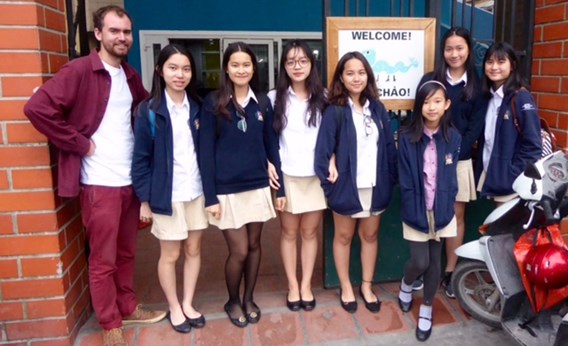 British International School Hanoi Blue Dragon